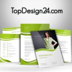 Bewerbungsanschreiben - Green--TopDesign24