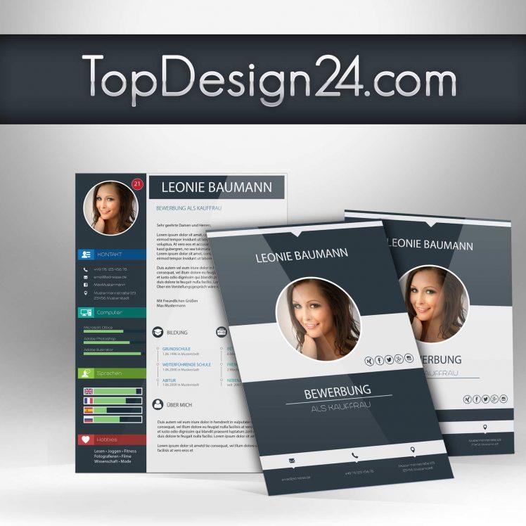 Design Bewerbung Kreativ