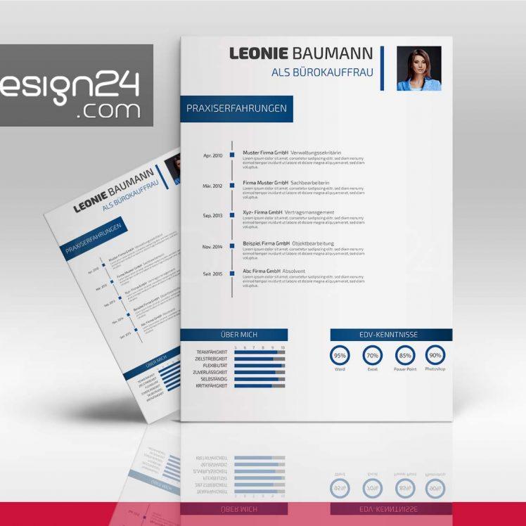 bewerbung design downloaden