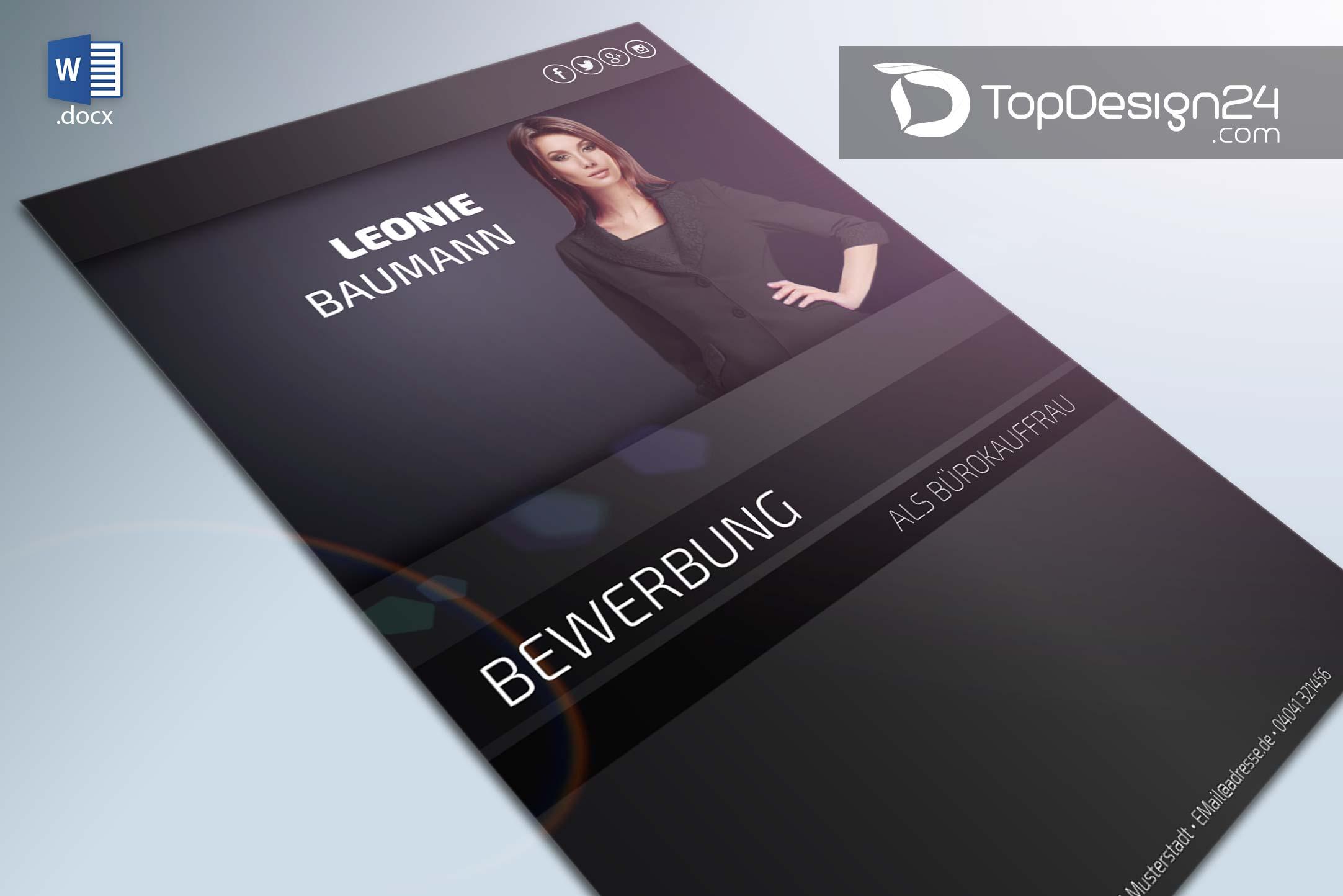 Deckblatt Design Word Topdesign24