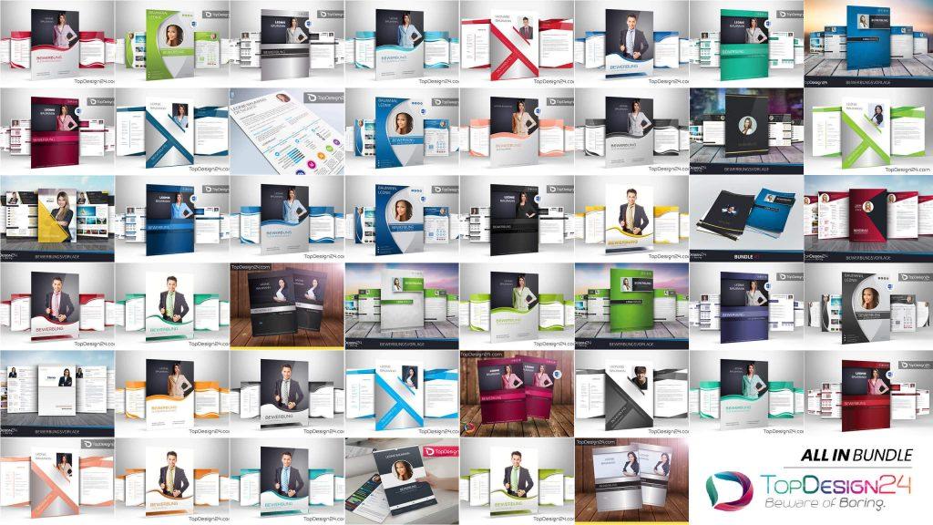 Bewerbungsschreiben bundle topdesign24