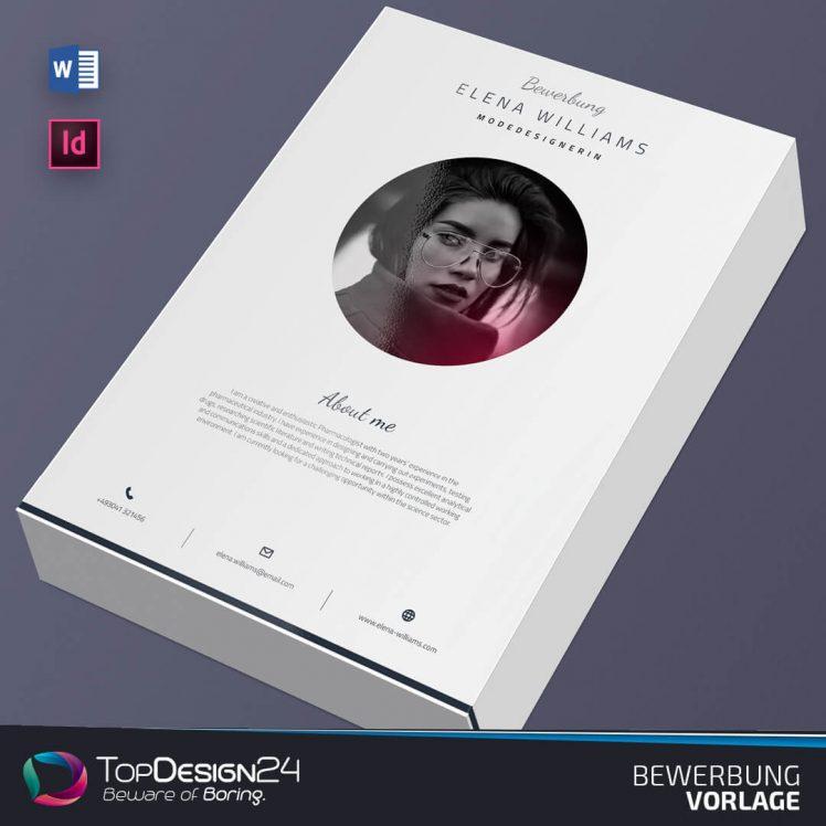 Bewerbung Moderne TopDesign24