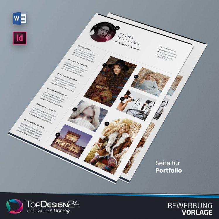 Bewerbung Vorlage Downloaden TopDesign24
